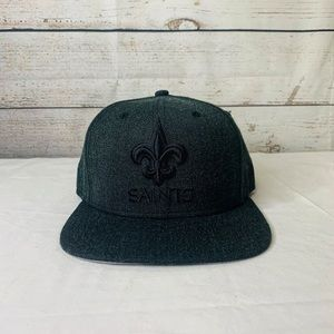 Saints NFL Flat bill 9fifty New Era Charcoal Gray